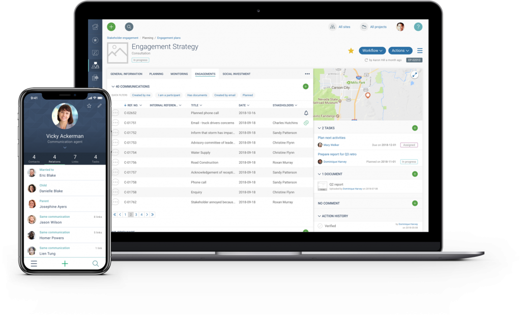 Stakeholder Engagement Software for Public Affairs