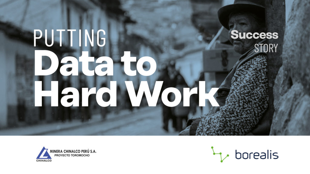 Download the Toromocho case study - Putting data to hard work
