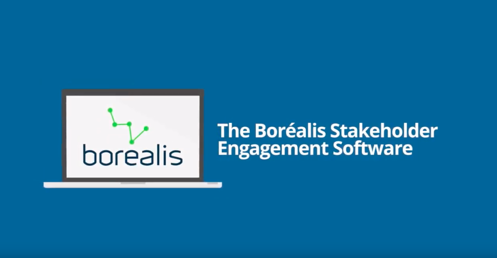 Boréalis software for government relations and public affairs